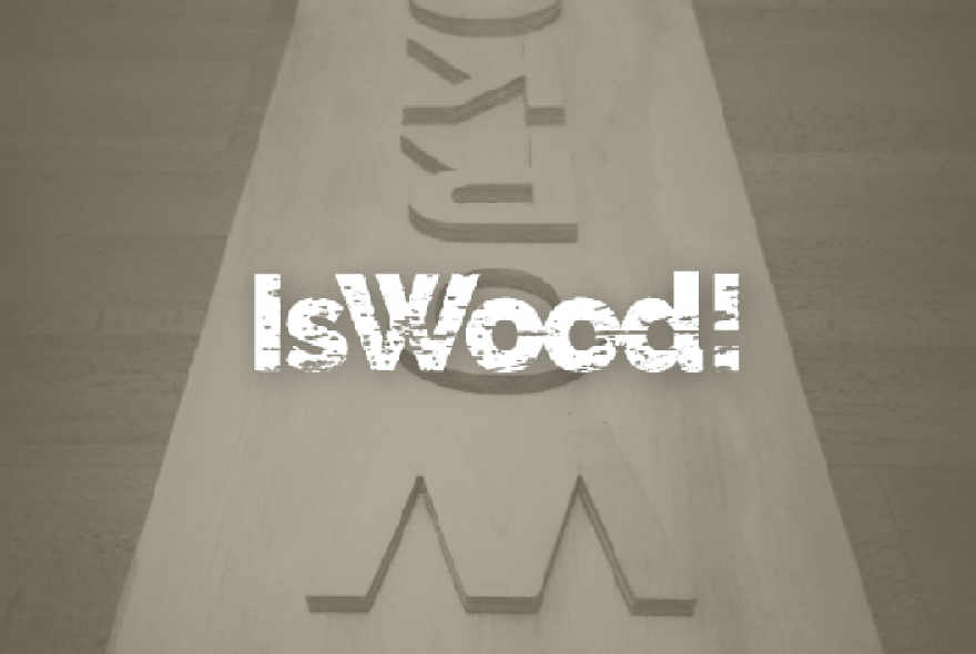 Enlace a Web IsWood!